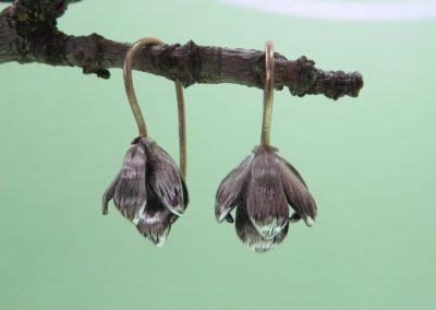 Ohrhänger Magnolienblüten